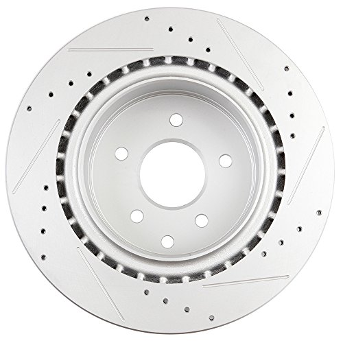 2004 Infiniti G35 Rotors: SCITOO Brake Kit Slotted And Drilled Discs Brake Rotors