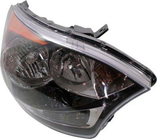 2011 Kia Rio Head Gasket: Crash Parts Plus Right Passenger Side Headlight Head Lamp