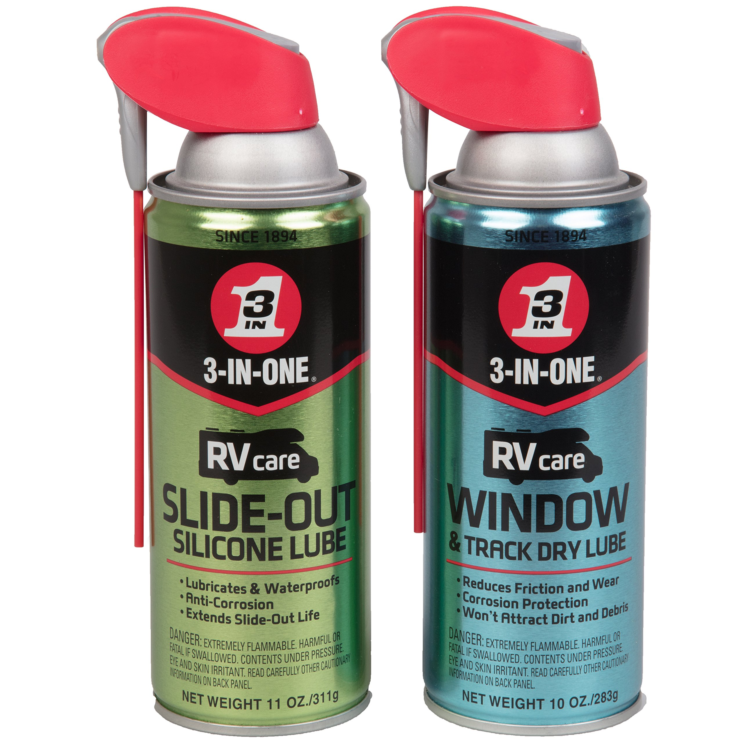 Dometic D1422001 Slide Out Lube Protector 15 Oz Aerosol