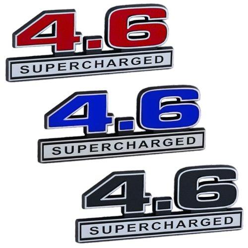 Supercharged Electric Az: 4.6 Liter Engine Supercharged Emblem Blue & Chrome