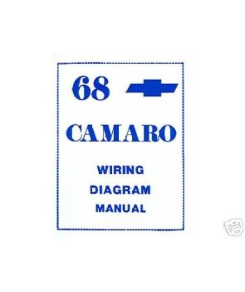 1968 Chevrolet Camaro Wiring Diagrams Schematics