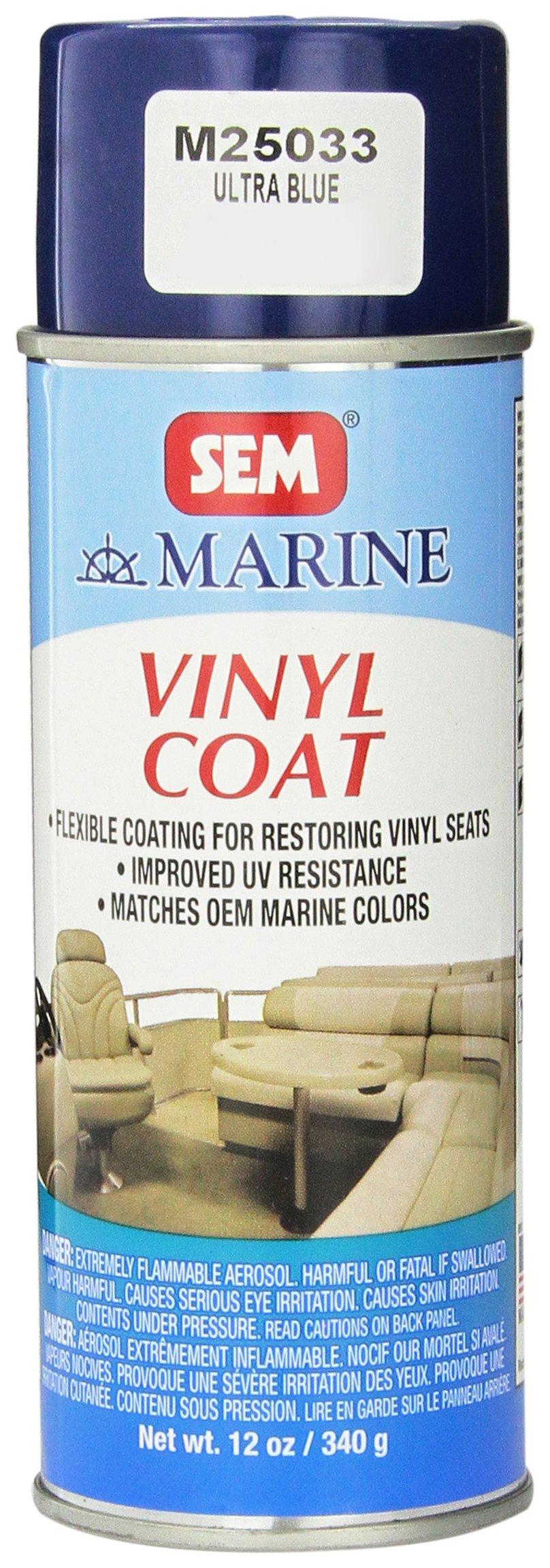 sem m25033 ultra blue marine vinyl coat 12 oz. Black Bedroom Furniture Sets. Home Design Ideas