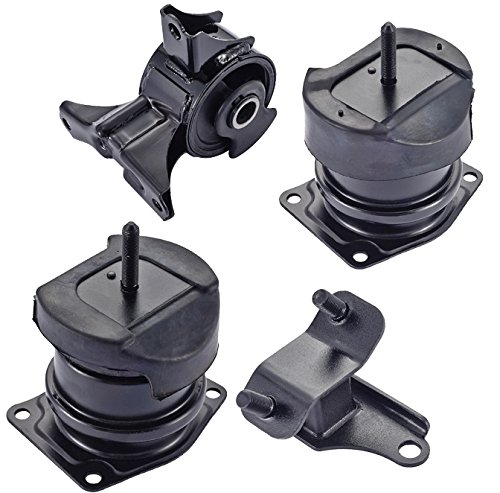 Engine Motor And Rear Trans Mount Set Of 4 For Honda