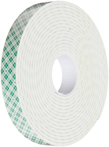 3m 4008 Natural Polyurethane Double Coated Foam Tape 0 75