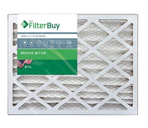 Filterbuy 30x36x2 Merv 13 Pleated Ac Furnace Air Filter