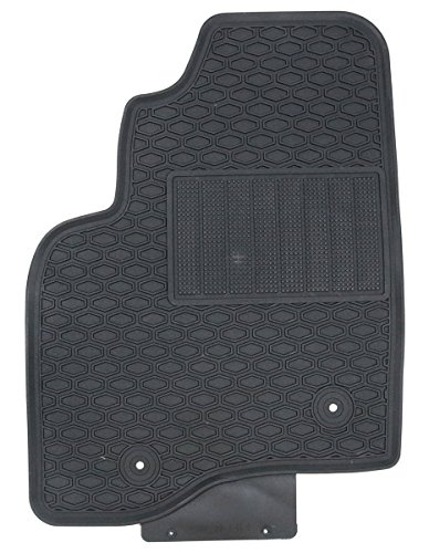 Black Rubber All Weather Floor Mats For 2015 Ford F 150