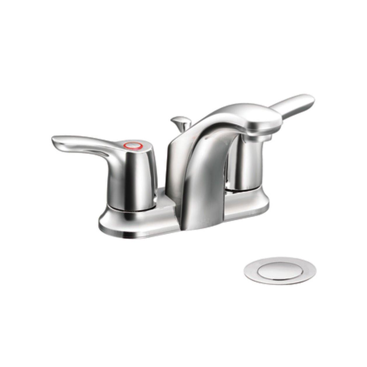 Surplus Bathroom Fixtures: Cleveland Faucets Ca42211 Baystone Centerset Bathroom Sink