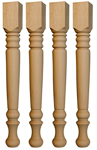 osborne farm dining table legs knotty pine 29 x 3 inches set of 4. Black Bedroom Furniture Sets. Home Design Ideas