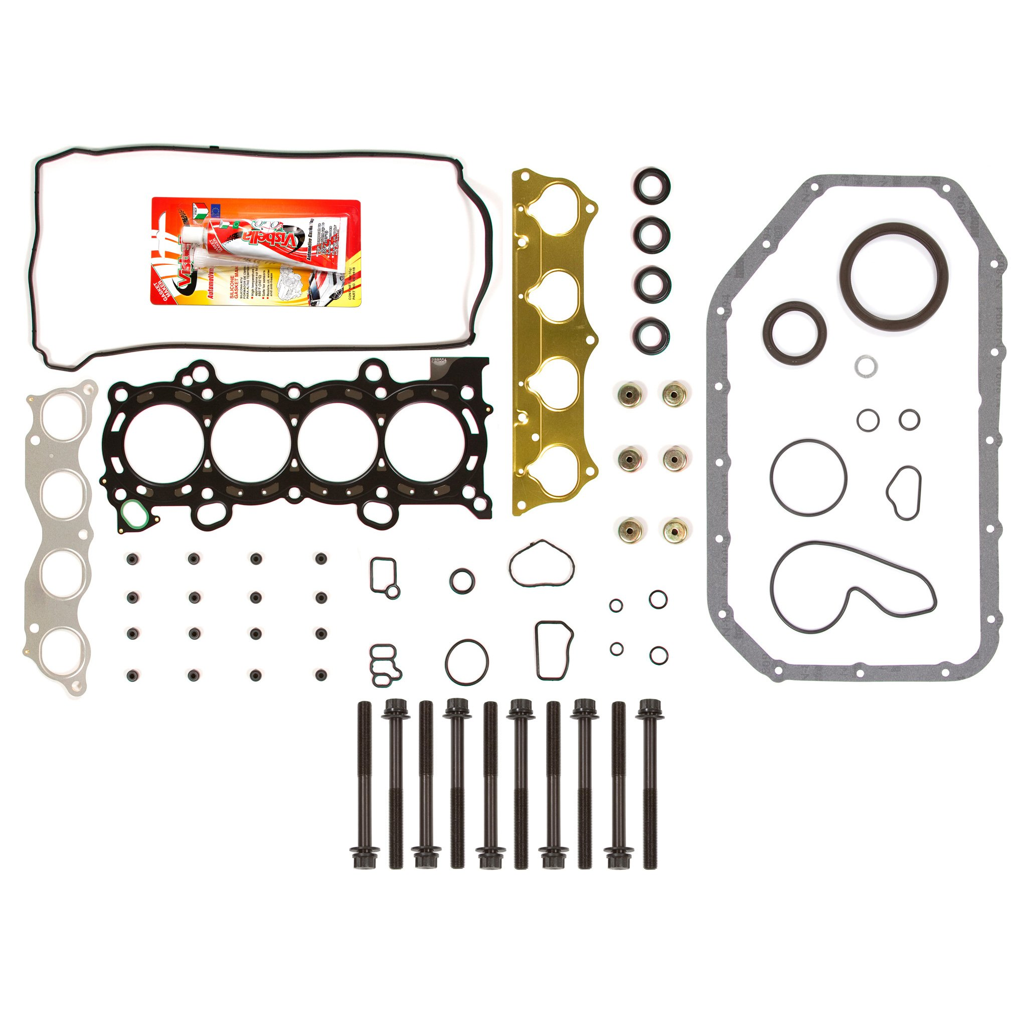 02-06 Acura Rsx Type-s Ivtec 2 0 K20a2 Dohc Full Gasket