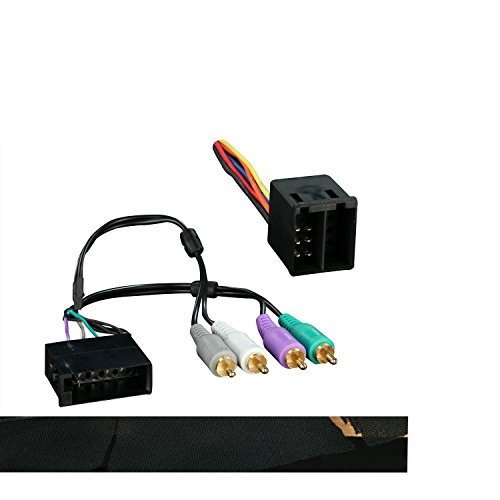 Metra 70-9400 Radio Wiring Harness For Land Rover Discovery