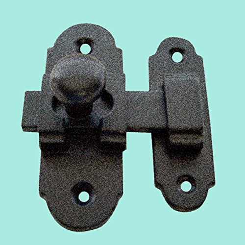 Black Wrought Iron Cabinet Latch Slide Style 3 25 Inch H X
