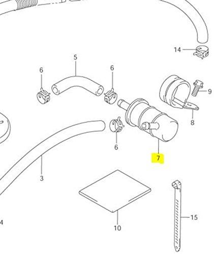 suzuki oem replacement fuel filter vl1500 intruder 98