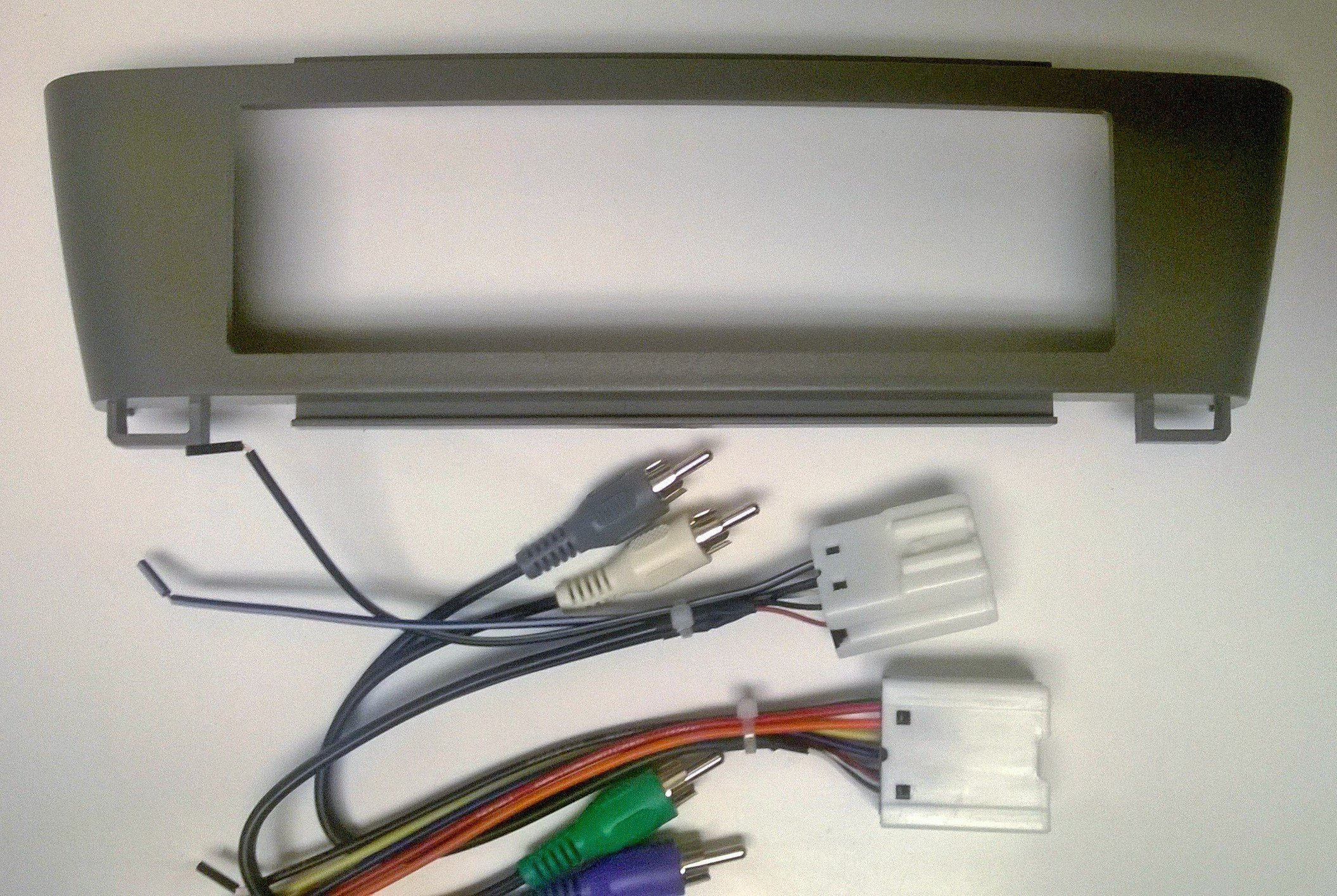 stereo dash kit and wire harness for installing a new. Black Bedroom Furniture Sets. Home Design Ideas