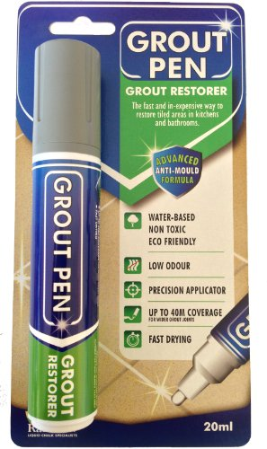 Grout Pen Large Brown Ideal To Restore The Look Of Tile Lines