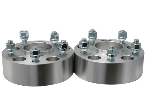 """4pc 50mm (2"""") 5x100 Hubcentric Wheel Spacers (56.1mm Bore"""