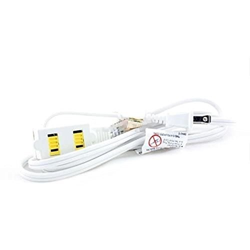 extension cords 12 ft 3 outlet indoor wall ac extension