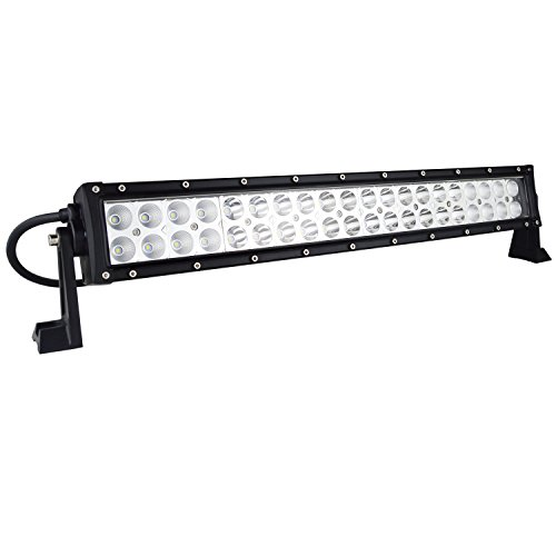 auxtings 22 24 inch 120w spot flood led light bar offroad