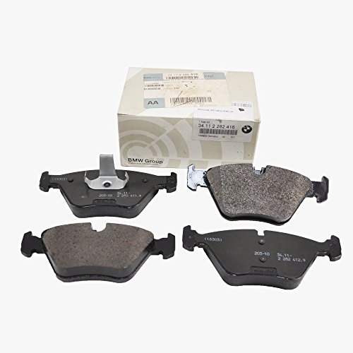 BMW Front Brake Pads Genuine Factory Original 34112282416