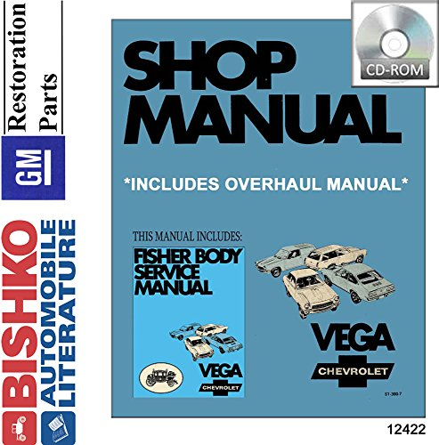 1971 Chevrolet Vega 2300 Shop  U0026 Body Service Repair Manual