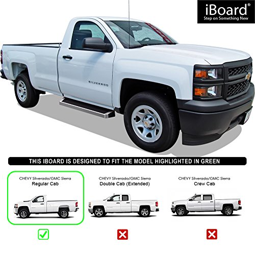 2007 Chevrolet Silverado 2500 Hd Regular Cab Camshaft: Aps Iboard Running Boards Style Custom Fit 2007-2018 Chevy