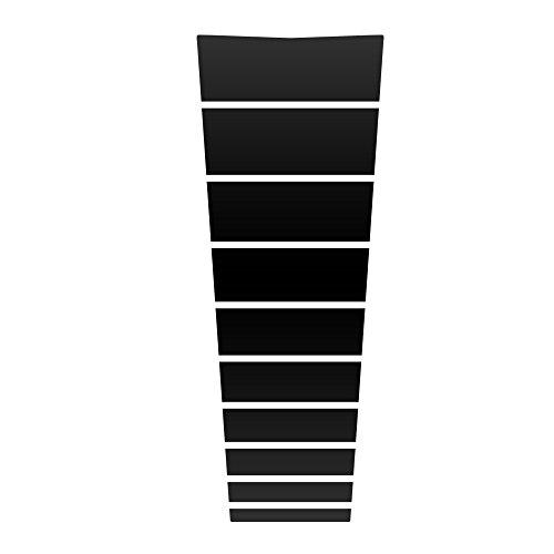 Auto Vynamics Nsn-302-mbla Matte Black Vinyl Hood Decal ...