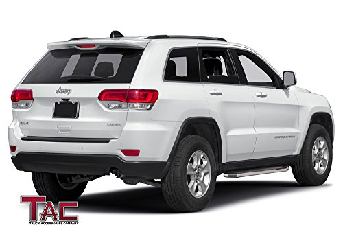 tac running boards for 2011 2018 jeep grand cherokee excl. Black Bedroom Furniture Sets. Home Design Ideas