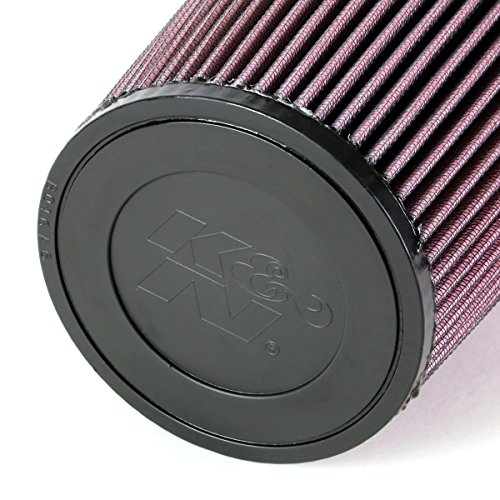 "K N Re 0930 Universal Clamp On Air Filter Universal Air: K&N RE-0810 3"" ID Reusable Clamp-On Round Tapered Cone Air"