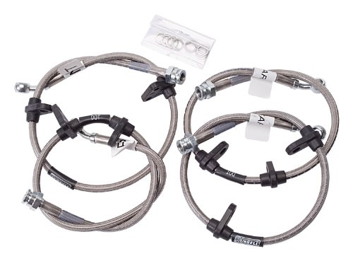 edelbrock    russell 684550 street legal brake line kit