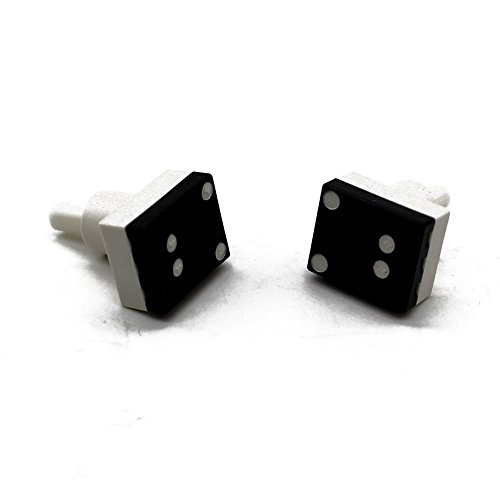 pack of 2 interior dome light lamp switch for honda accord. Black Bedroom Furniture Sets. Home Design Ideas