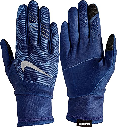 Nike Gloves Touch Screen: Nike Womens Printed Therma-FIT Elite Gloves 2.0 (Binary