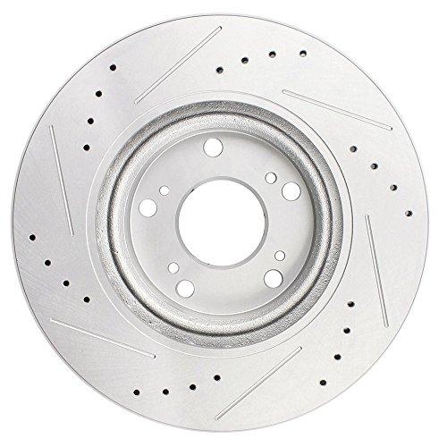 SCITOO Front 300 Mm Discs Brake Rotors Brake Kit For 2013