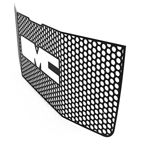 grille insert guard circle punch black powdercoat fits